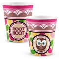 Owl Pink Cups 
